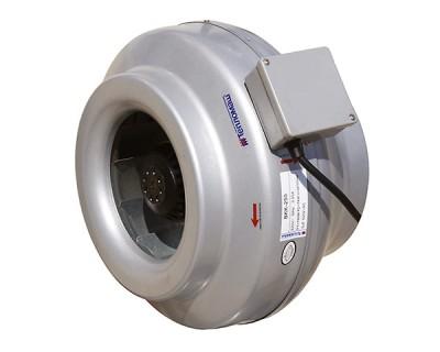 Вентиляторы канальные круглые ВКК серия СТАНДАРТ в пластиковом корпусе
