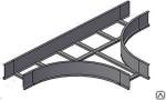 Лотки тройниковые лестничные НЛ-Т S=1,2мм высота(Н) борта 50 мм.